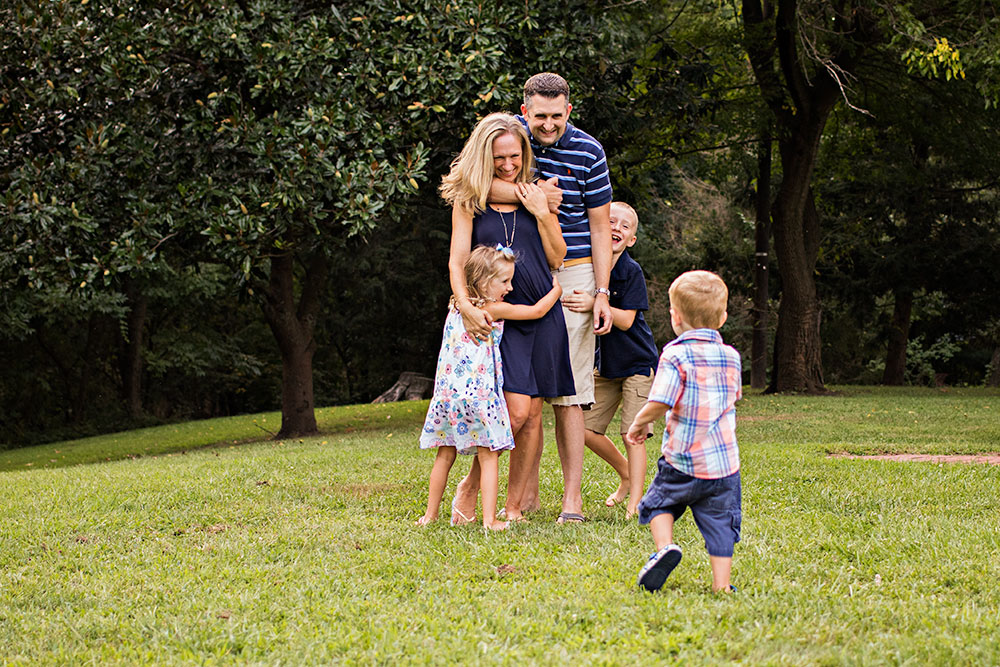 NancyElizabeth Photography | New Jersey Family Photographer | Kids Hugging Mom and Dad