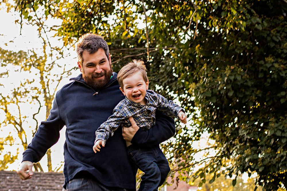 Nancy Elizabeth Photography, New Jersey Photographer, Father and Son Running