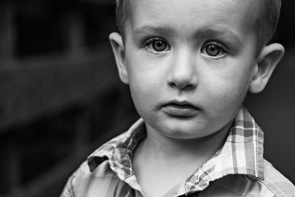 NancyElizabeth Photography | New Jersey Child Photographer | Serious Portrait of Toddler Boy