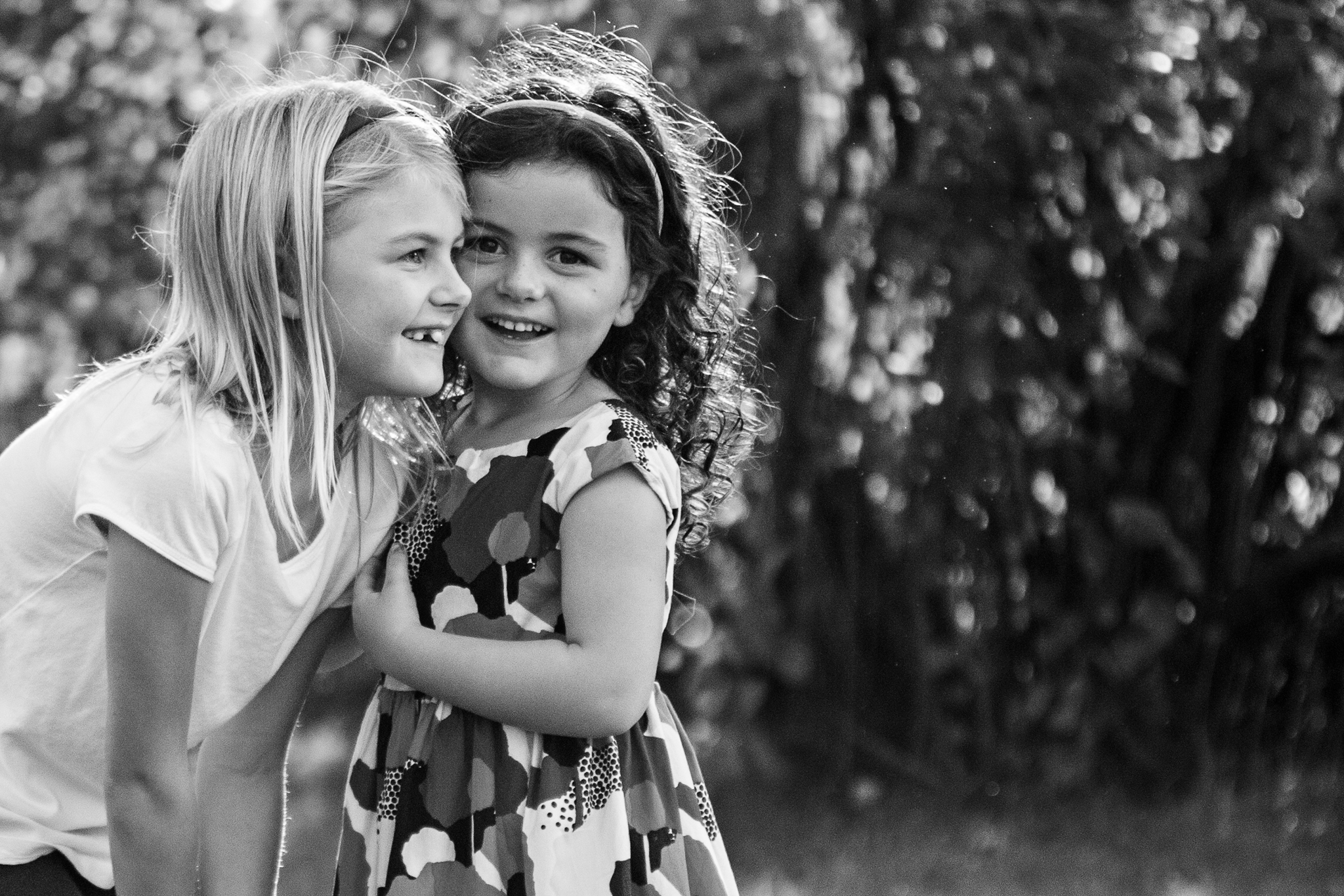 NancyElizabeth New Jersey Child Photographer | Sisters Telling Secrets