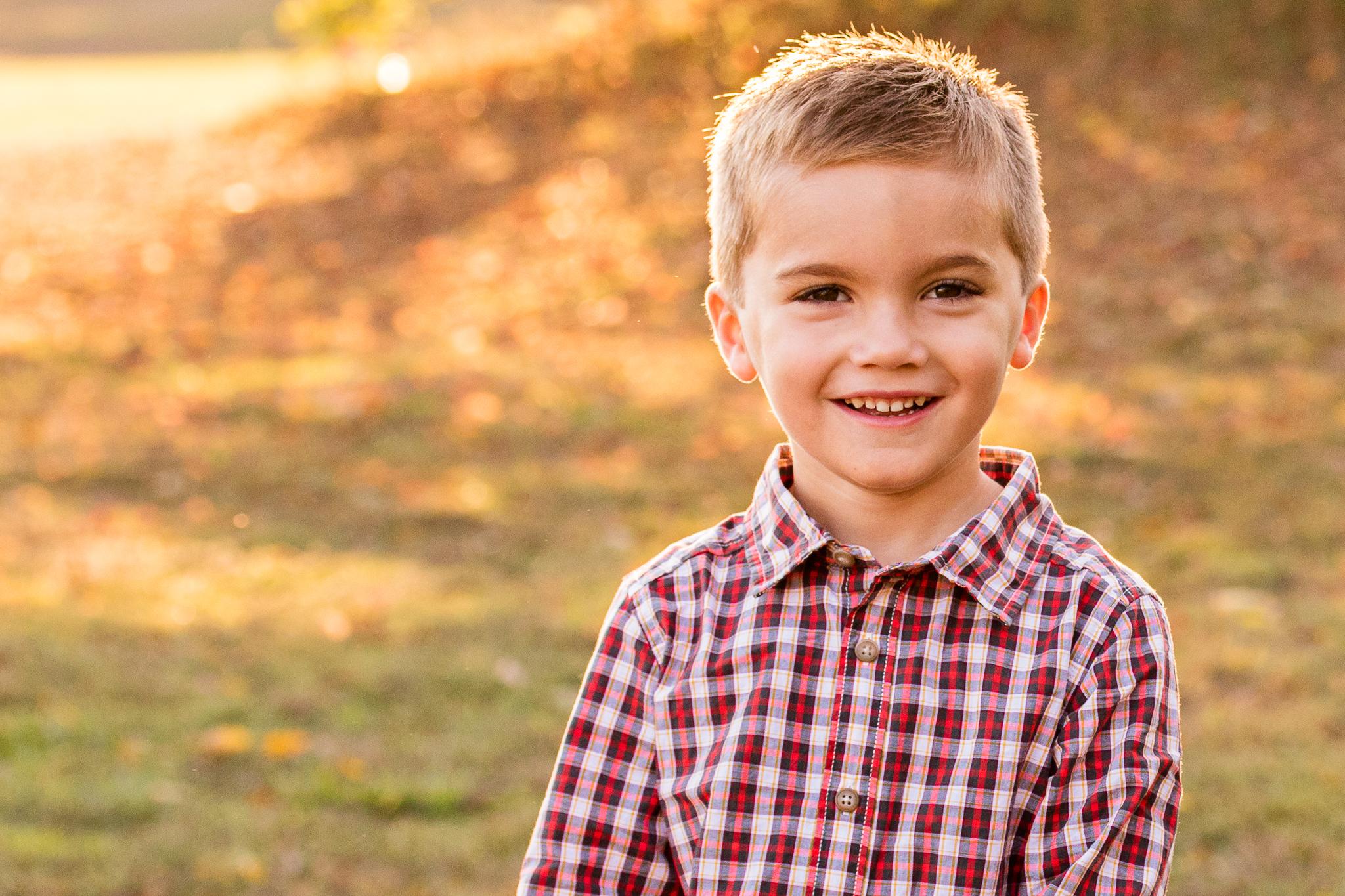 NancyElizabeth New Jersey Family Photographer | Smiling Preschooler Portrait