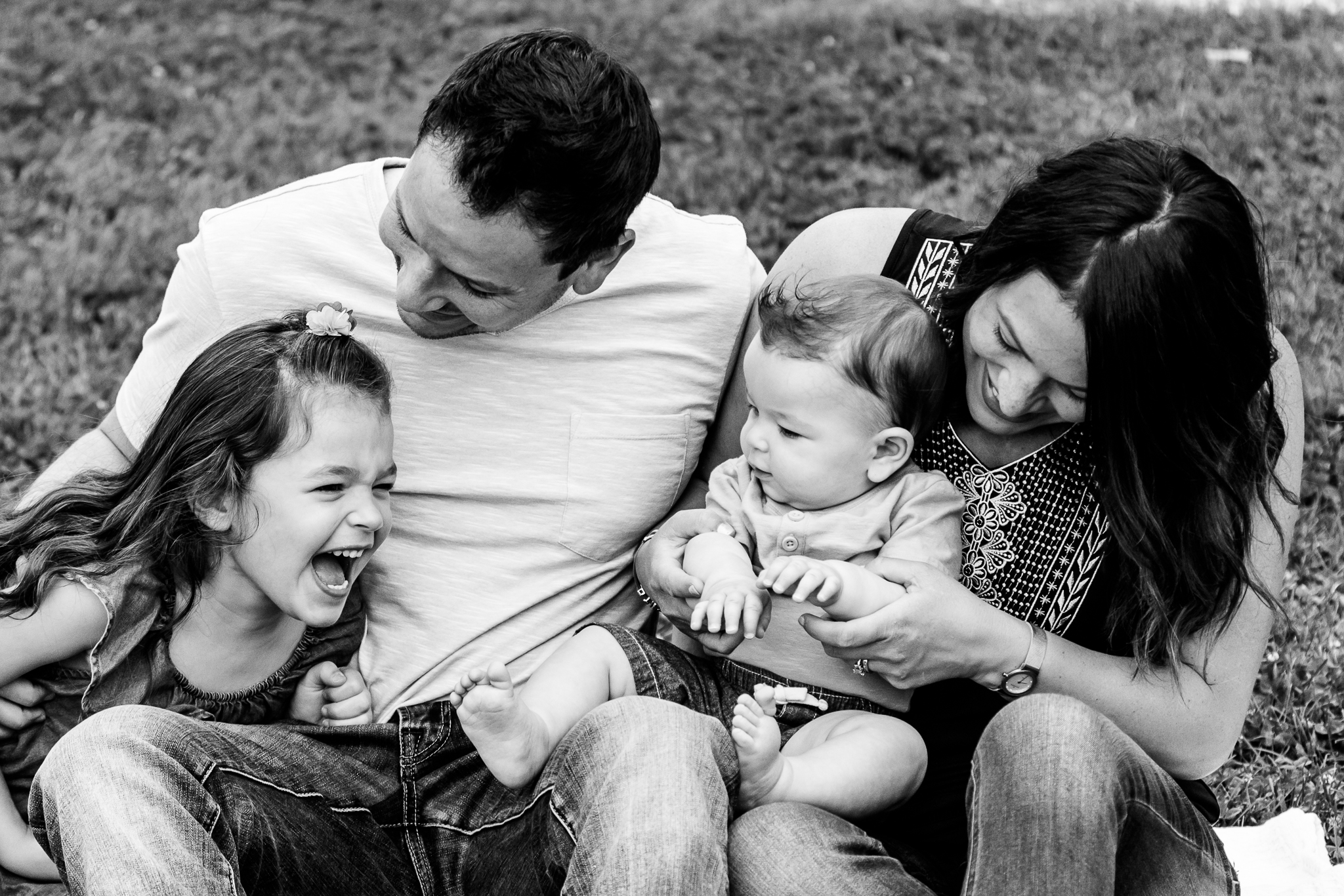 Nancy Elizabeth Photography, New Jersey, Family Tickle